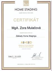 certifikat-zora-mulacova-zaklady-homestagingu
